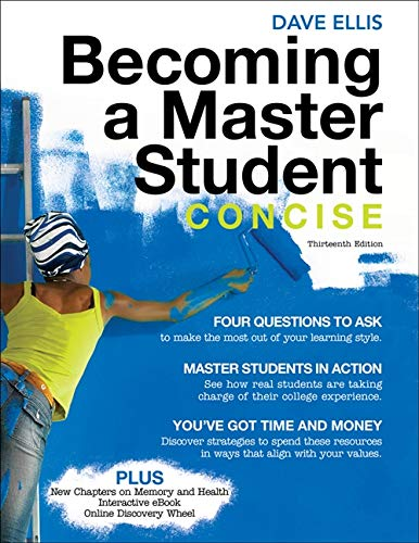 9780495912811: Becoming a Master Student: Concise (Textbook-specific CSFI)