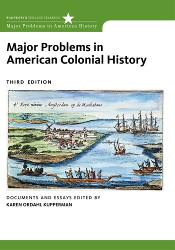 Major Problems in American Colonial History (Major