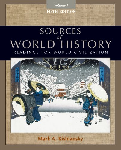 9780495913177: 1: Sources of World History, Volume I