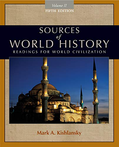 9780495913184: Sources of World History, Volume II