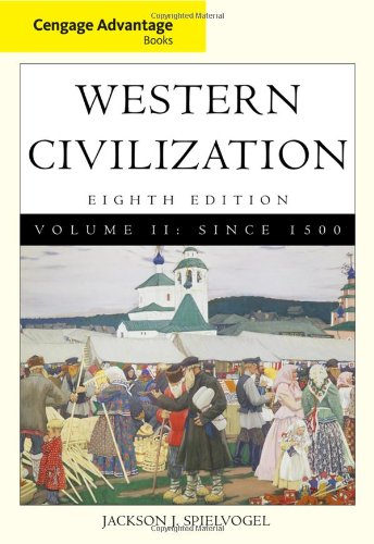 9780495913283: Cengage Advantage Books: Western Civilization, Volume II: Since 1500