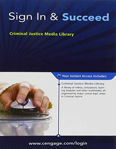 9780495913306: Criminal Justice Media Library Printed Access Card