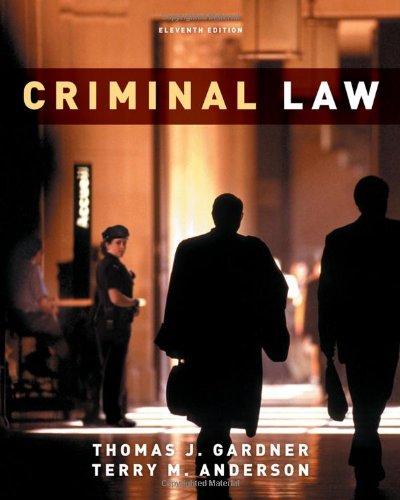 9780495913375: Criminal Law