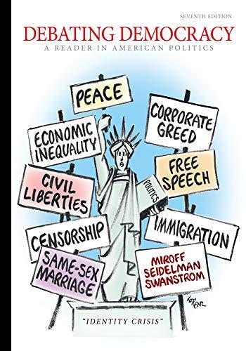 9780495913474: Debating Democracy: A Reader in American Politics