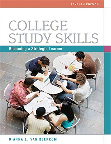 9780495913511: College Study Skills: Becoming a Strategic Learner