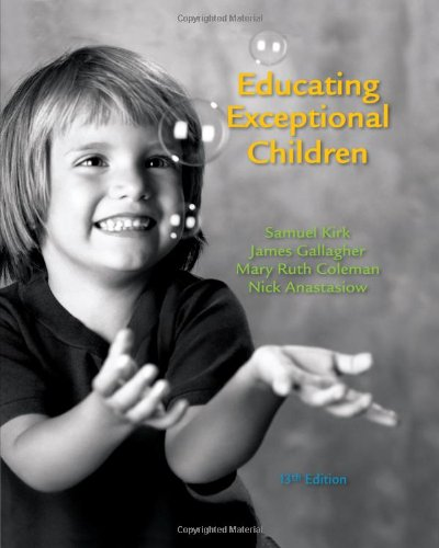 Educating Exceptional Children (What's New in Education): Kirk, Samuel; Gallagher,