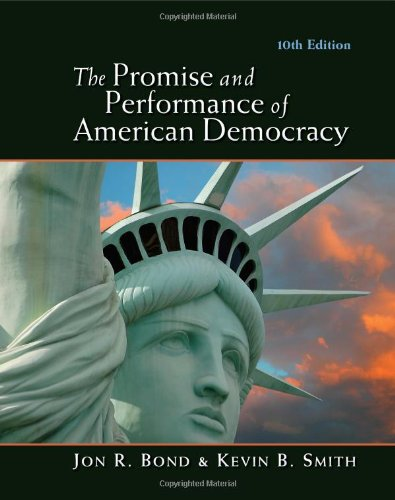 9780495913740: The Promise and Performance of American Democracy