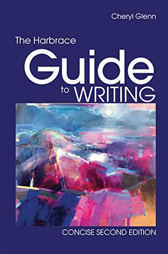 9780495913993: The Harbrace Guide to Writing, Concise