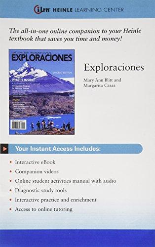 9780495914259: Exploraciones