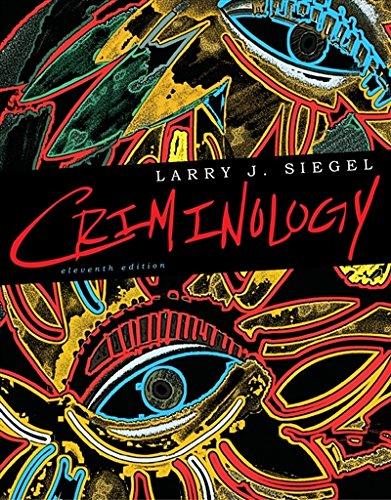 9780495914471: Cengage Advantage Books: Criminology