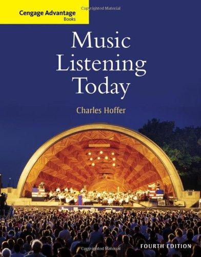 9780495916147: Music Listening Today (Cengage Advantage Books)