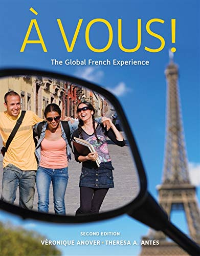 9780495916178: Student Activity Manual for Anover/Antes' À Vous!: The Global French Experience