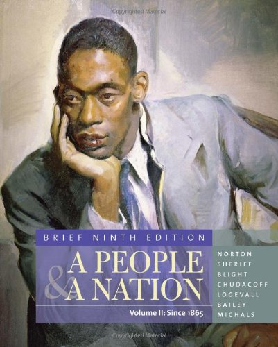 9780495916239: A People & A Nation: A History of the United States: Since 1865