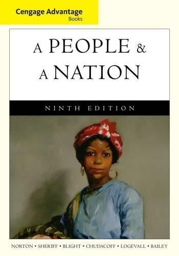 9780495916246: Cengage Advantage Books: A People and a Nation: A History of the United States
