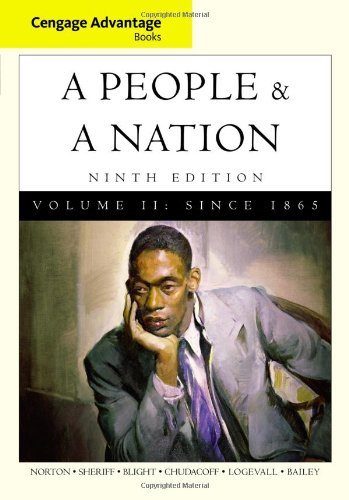 9780495916260: Cengage Advantage Books: A People and a Nation: A History of the United States, Volume II