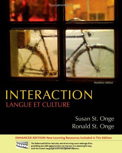 Interaction: Langue et culture, Enhanced (World Languages)