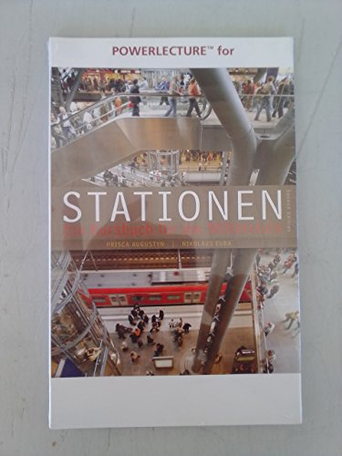 9780495916413: Powerlecture for Stationen 2nd Edition