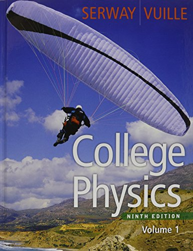 9780495962915: Bundle: College Physics, Volume 1, 9th + Enhanced WebAssign with eBook LOE Printed Access Card for One-Term Math and Science