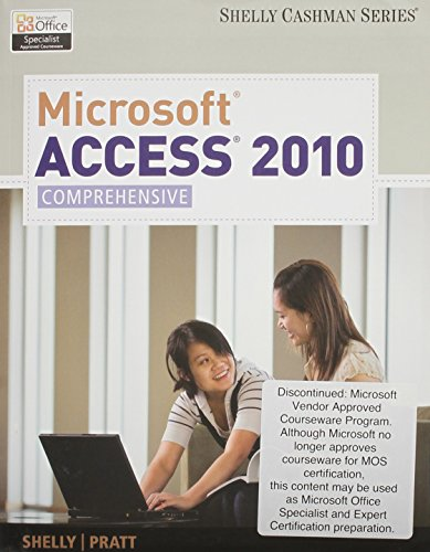 9780495963561: Bundle: Microsoft Access 2010: Comprehensive + SAM 2010 Assessment, Training, and Projects v2.0 Printed Access Card