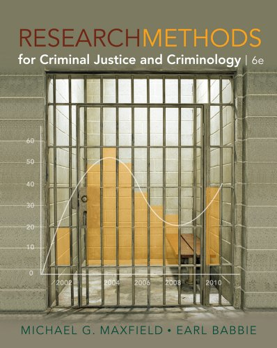 Bundle: Research Methods for Criminal Justice and Criminology, 6th + WebTutor(TM) on WebCT(TM) Printed Access Card for Criminal Justice Media Library (049596851X) by Maxfield, Michael G.; Babbie, Earl R.