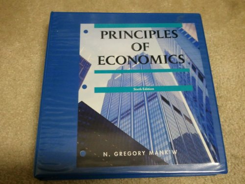 Principles of Economics (9780495970941) by N. Gregory Mankiw