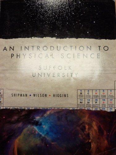 9780495977018: An Introduction To Physical Science (Suffolk University)