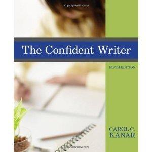 9780495989219: THE CONFIDENT WRITER