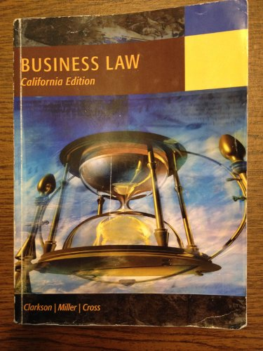 9780495991649: Business Law: Text and Cases - Legal, Ethical, Global, and Corporate Environment