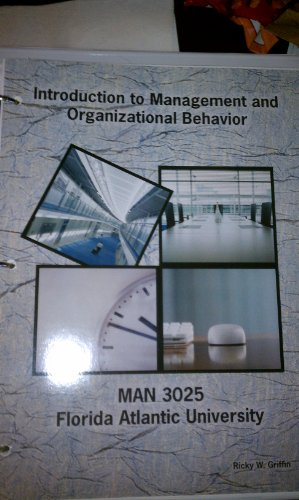 9780495995876: Intro to Management and Organizational Behavior (man 3025 FAU)