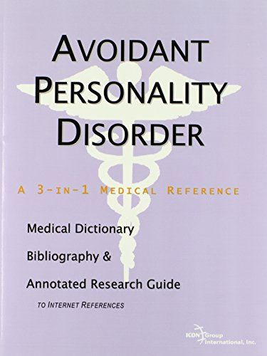 9780497001162: Avoidant Personality Disorder - A Medical Dictionary, Bibliography, and Annotated Research Guide to Internet References