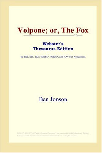 9780497010157: Volpone; Or, the Fox
