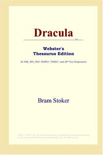 Dracula (Webster's Thesaurus Edition) (9780497010201) by Bram Stoker