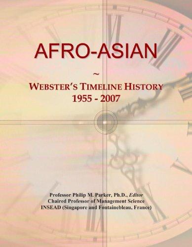 9780497116880: AFRO-ASIAN: Webster's Timeline History, 1955 - 2007