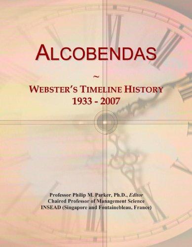 9780497118532: Alcobendas: Webster's Timeline History, 1933 - 2007