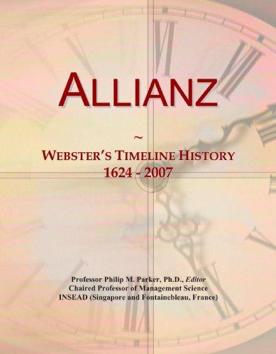 9780497118662: Allianz: Webster's Timeline History, 1624 - 2007