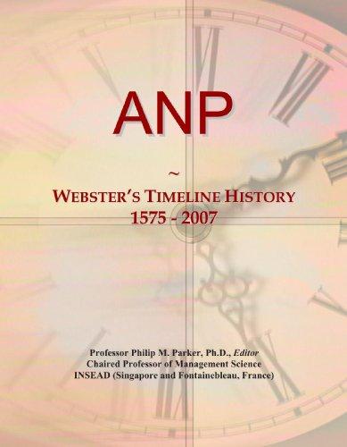 9780497123703: ANP: Webster's Timeline History, 1575 - 2007