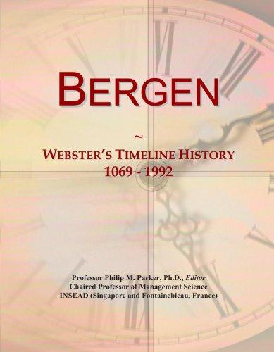 9780497127527: Bergen: Webster's Timeline History, 1069 - 1992