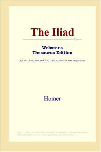 9780497252731: The Iliad