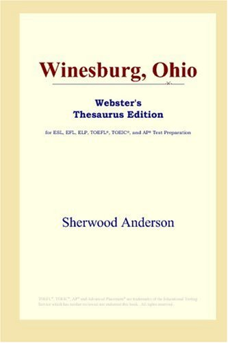 9780497253158: Winesburg, Ohio (Webster's Thesaurus Edition)
