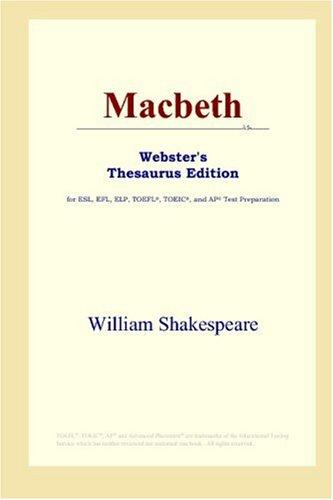 9780497253516: Macbeth (Webster's Thesaurus Edition)
