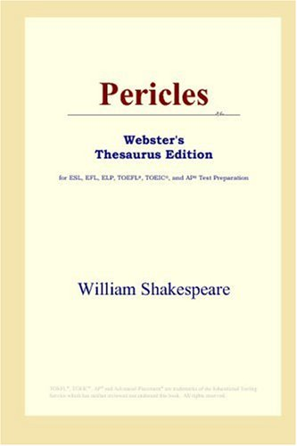 9780497253554: Pericles (Webster's Thesaurus Edition)