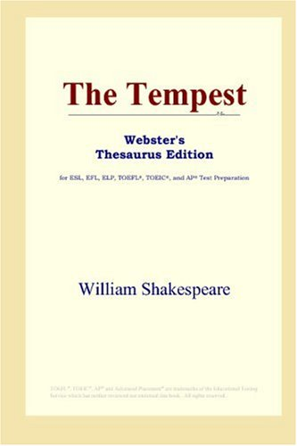 9780497253622: The Tempest (Webster's Thesaurus Edition)