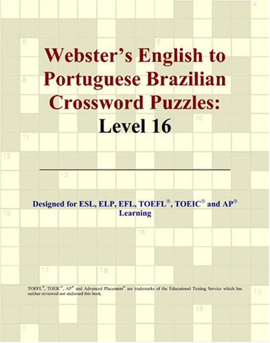 9780497254872: Webster's English to Portuguese Brazilian Crossword Puzzles: Level 16 (Portuguese Edition)