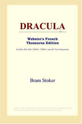 9780497255817: DRACULA (Webster's French Thesaurus Edition) (French Edition)