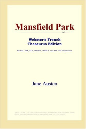 Mansfield Park: Webster's French Thesaurus
