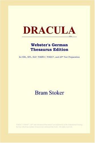 9780497257347: DRACULA (Webster's German Thesaurus Edition)