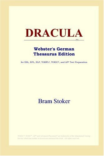9780497257347: DRACULA (Webster's German Thesaurus Edition)