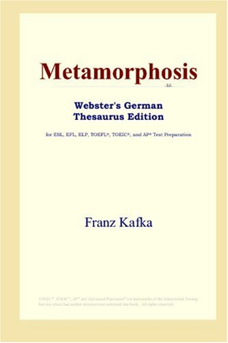 9780497257613: Metamorphosis (Webster's German Thesaurus Edition)