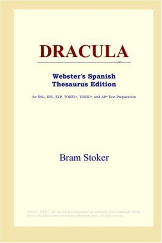 9780497258849: DRACULA (Webster's Spanish Thesaurus Edition)