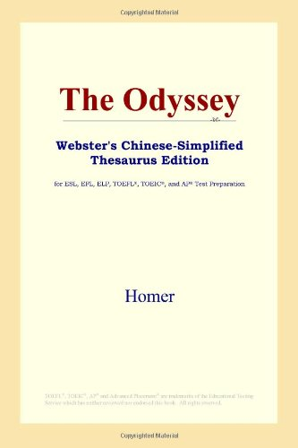 9780497260323: The Odyssey (Webster's Chinese-Simplified Thesaurus Edition) (Chinese Edition)